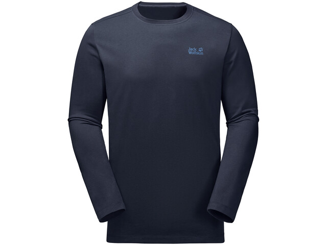 Jack Wolfskin Essential T-shirt à manches longues Homme, night blue